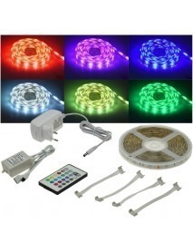 RGB LED-Stripe Set 5m RGB-500 Indoor max 600lm 24W