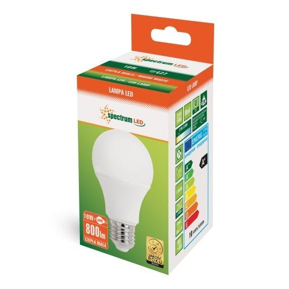 LED Birne 10 Watt 800 - 880 Lumen warmweiß
