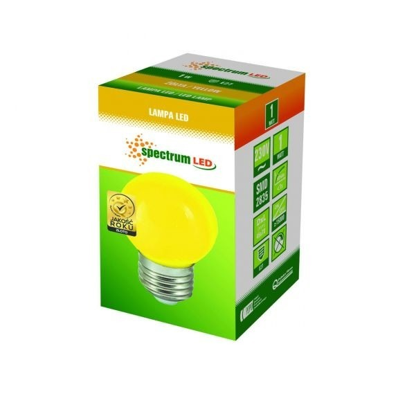 LED Birne verschiedene Farben wählbar RGB automatischer Farbwechsel Gelb