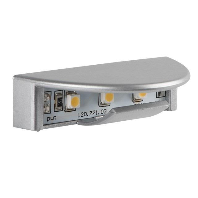 LED Möbelleuchte / Glasleuchte / Glasklemme 12 Volt warmweiß