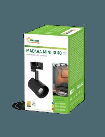 Madara Mini 3-Phasen Strahler LED in schwarz