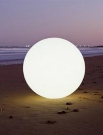 LED Leuchtkugel RGB kabellos GLOBE L 65cm