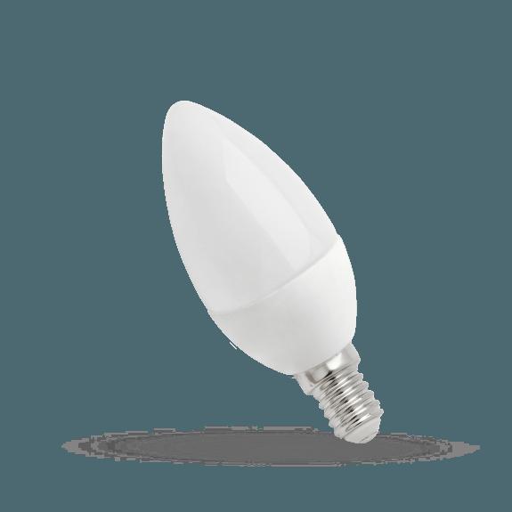 4 Watt LED Lampe Kerzenform E14 Lichtfarbe wählbar