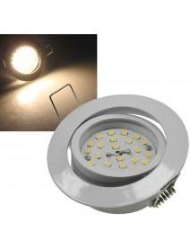 LED-Einbauleuchte Flat-32 warmweiß 470lm 5W