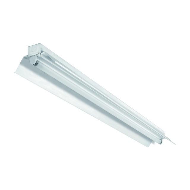 Fassung für LED Röhren aus Metall mit Reflektor Markenware von Kanlux 150 cm
