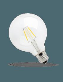 SpectrumLED Filament LED Globe 4 Watt 450 Lumen warmweiß Verpackung