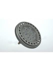 Spot, 9x1,2W High-Power Led, 30°, 12V AC/DC, AR111, G53, ww