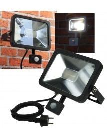 LED-Fluter SlimLine CTF-SL30 PIR schwarz 2100lm 30W