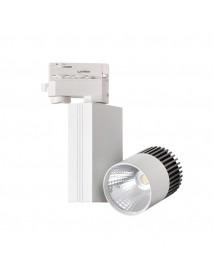 LED-Strahlerleuchte für Montage auf der Schienenleitung 11W 750lm neutralweiß