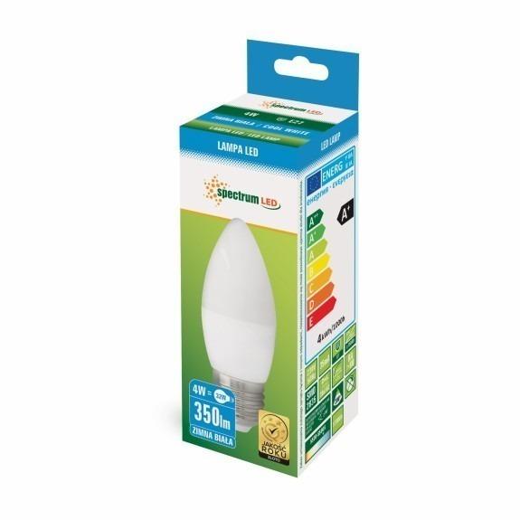 LED Lampe Kerzenform E27 4 Watt 350 Lumen kaltweiß