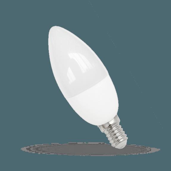 LED Lampe Kerzenform E14 7 Watt