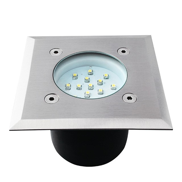 LED Bodeneinbaustrahler GORDO IP66 0,7 Watt