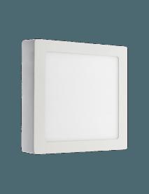 LED Aufbaupanel Quadrat 12 Watt neutralweiß
