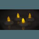 Schwimmendes LED Teelicht 4er Pack inklusive Batterien