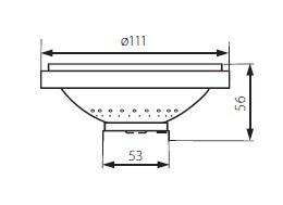 AR111 LED Strahler 11 Watt Kanlux 900 Lumen