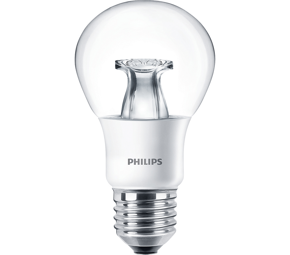 Philips DiamondSpark E27 LED Birne 6 Watt 470 Lumen DimTone