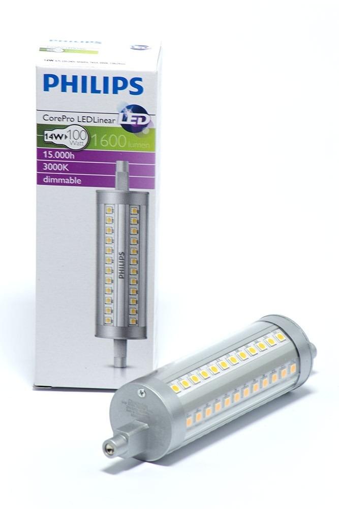 philips r7s led strahler 14 watt 1600 lumen led homeshop. Black Bedroom Furniture Sets. Home Design Ideas