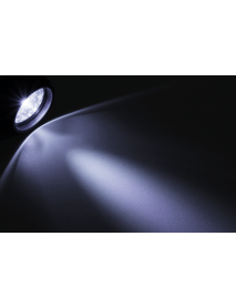 LED Stirnlampe 19 LEDs 4 Leuchtmodi schwenkbar