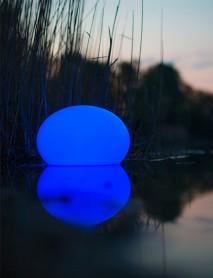 LED RGB Leuchte Schwimmleuchte FLATBALL 35cm