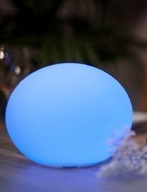 LED Tischleuchte FLATBALL XXS 18x14cm