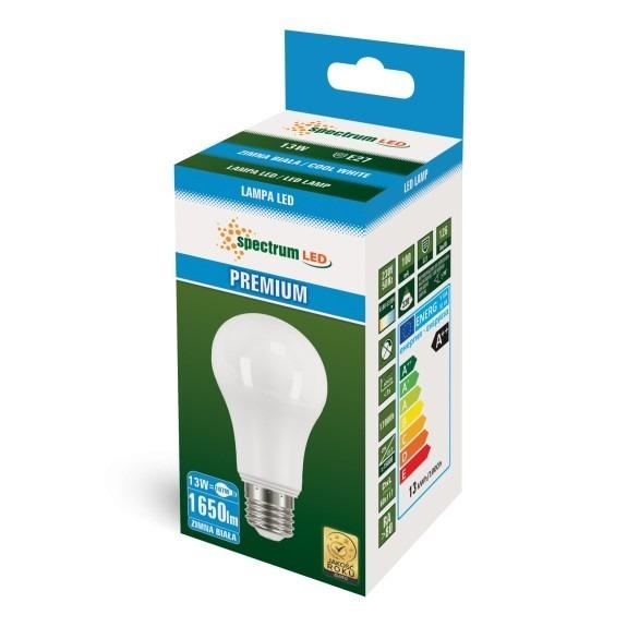 Premium LED Birne 13 Watt 1.650 Lumen kaltweiß