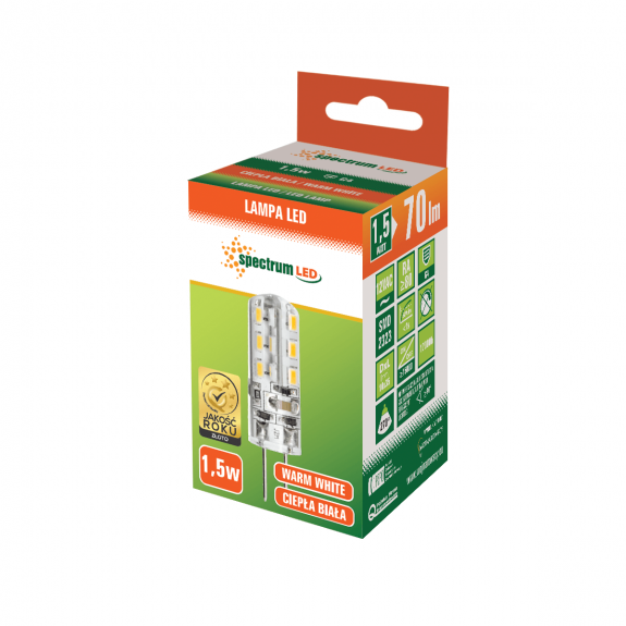 LED G4 Stiftsockellampe 1,5 Watt