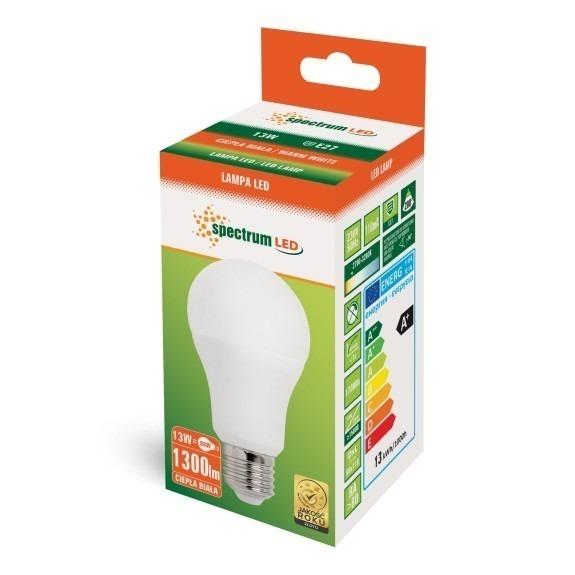 LED Birne 13 Watt 1.300 - 1.400 Lumen warmweiß
