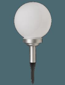 LED Solarleuchte Kugel für den Aussenbereich mit Erdspieß