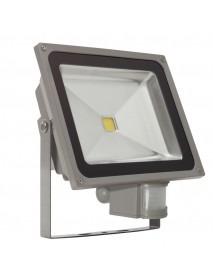 50 Watt MCOB LED Fluter mit Bewegungsmelder IP44 neutralweiß