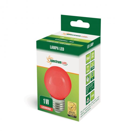 LED Birne verschiedene Farben wählbar RGB automatischer Farbwechsel Rot