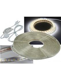 LED-Stripe Ultra-Bright 230V 10 Meter mit 100 Watt und 6300 Lumen Kaltweiß