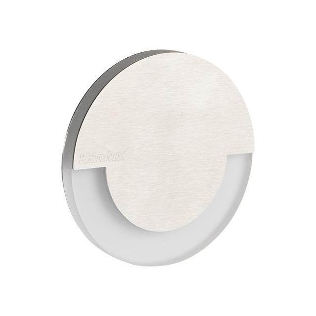 Kanlux LED Sola Einbauleuchte 1,3 Watt 15 Lumen mit Trafo kaltweiß-6.500 K kaltweiß