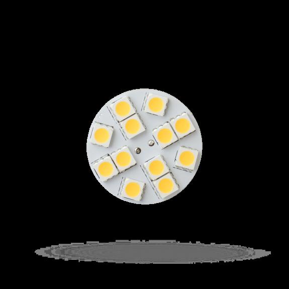 G4 Plättchen 2 Watt 190 Lumen Frontalansicht