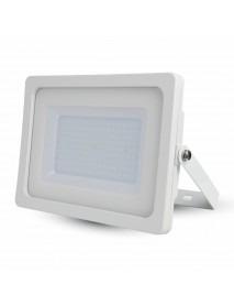 LED Fluter / Scheinwerfer weißes Gehäuse 100 Watt 8500 Lumen Lichtfarbe wählbar
