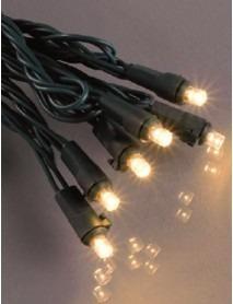 LED Lichterkette 22,9m mit verschiedenen Effekten inkl. Fernbedienung für Aussenbereich Warmweiß