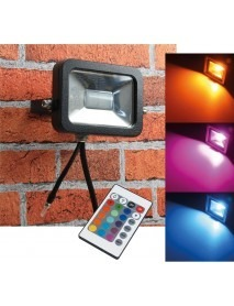 LED-Fluter SlimLine CTF-SL10W RGB