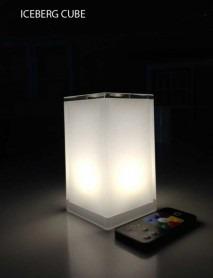 LED Tischleuchte HoKaRé' Iceberg mini 7,4x7,4x13,5cm
