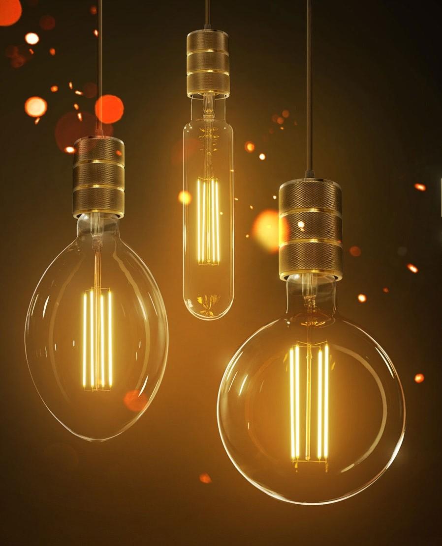 LED Retro Shine Hängeleuchte 6 Watt 350 Lumen Leuchtmittel