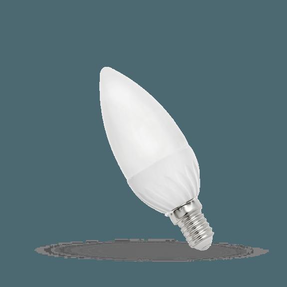 LED Lampe Kerzenform E14 6 Watt