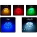 LED Lichtschlauch verschiedene Farben 36 LEDs/m mit Netzstecker IP44 50m Rolle