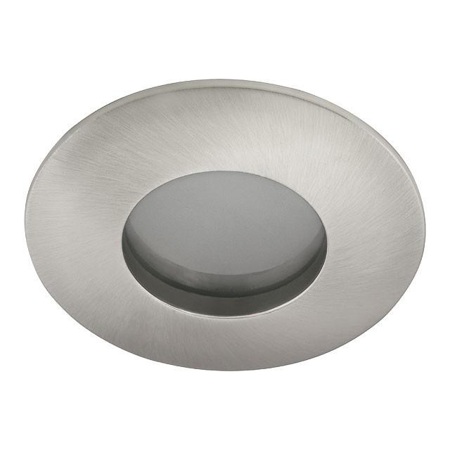 Deckeneinbaufassung GU5.3 / GU10 IP44 für Badezimmer / Feuchtraum