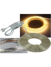 LED-Stripe Ultra-Bright 230V 5 Meter 50 Watt und 3000 Lumen Warmweiß