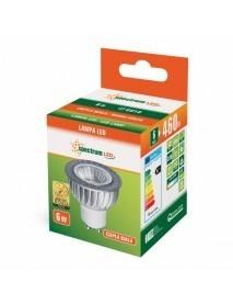 LED GU10 Spot / Strahler 38° Abstrahlwinkel 4 bis 6 Watt