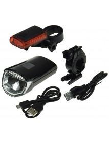 Fahrrad LED-Beleuchtungsset CFL 30 pro 70lm