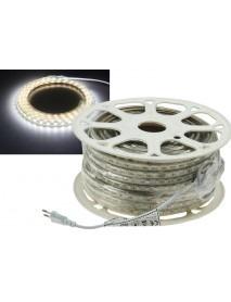 LED-Stripe Ultra-Bright 230V 50 Meter mit 500 Watt und 31500 Lumen in Kaltweiß