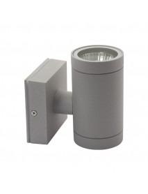 Edle zylinderförmige LED-Wandleuchte für den Außenbereich GU10 Fassung