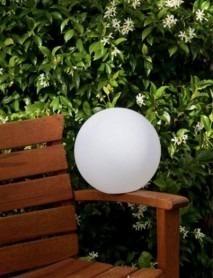 LED Tischleuchte KUGEL PEARL 25cm