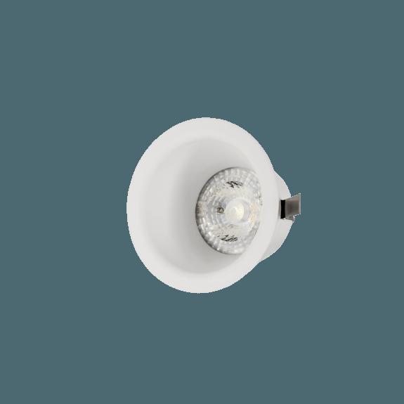 Einbaudownlight SLIP FIALE III GU10 rund weiß