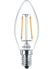 LED Filament Classic Birne Kerzenform 2 Watt