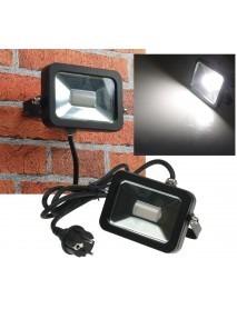 LED-Fluter SlimLine CTF-SL10B schwarz 780lm 10W